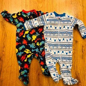 Other - 2 Piece 3-6 months baby boys fleece pajamas